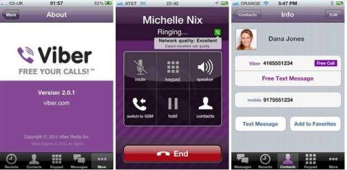 2. Viber Top 10 iPhone Apps to Make Free Calls