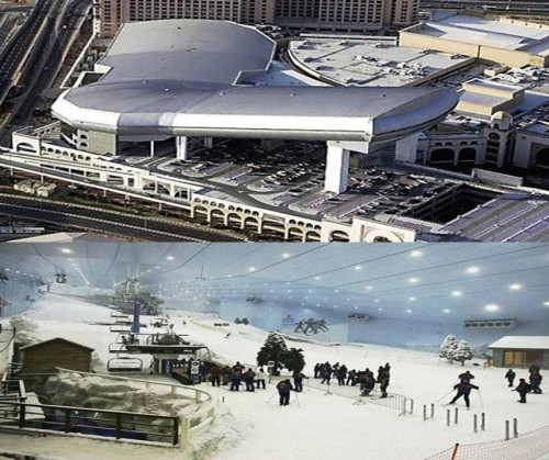 3. Great Skiing Experience at the Mall of the Emirates e1334645322755 Top 10 Things to Do When You Go to Dubai