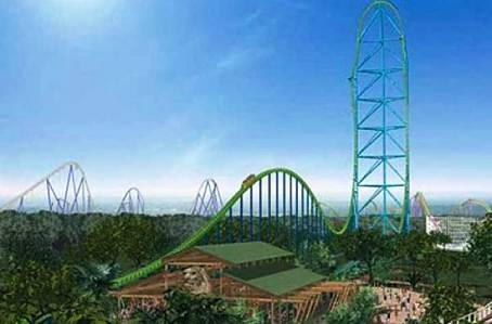 3. Kingda Ka Top 10 Fastest Roller Coaster Rides in the World