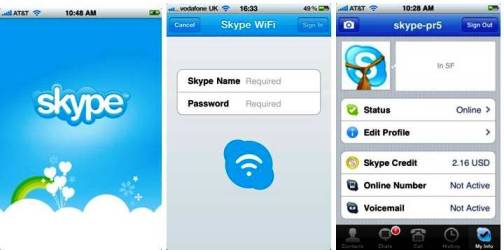 3. Skype Top 10 iPhone Apps to Make Free Calls