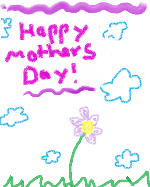 300px Mothers Day card 10 Best Mothers Day Greeting Card Ideas