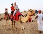 4. A Camel Ride in the Desert