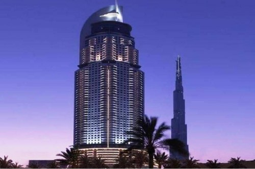 4. Burj Dubai e1334589132705 Top 10 Most Luxurious Hotels in Dubai