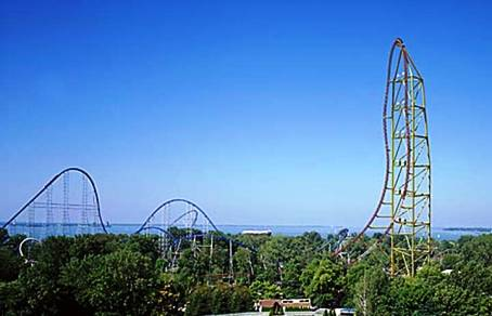 4. Top Thrill Dragster Top 10 Fastest Roller Coaster Rides in the World