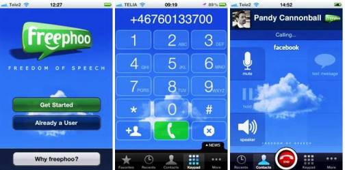 5. Freephoo Top 10 iPhone Apps to Make Free Calls