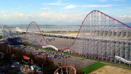 7. Steel Dragon 2000 Top 10 Fastest Roller Coaster Rides in the World