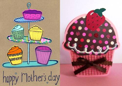 8. Dessert Cards 10 Best Mothers Day Greeting Card Ideas