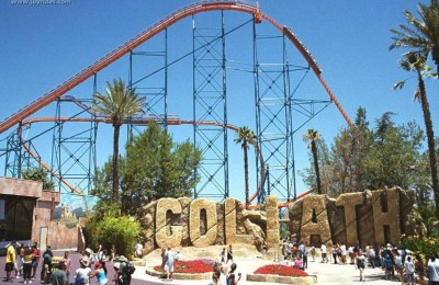 8. Goliath e1334667172136 Top 10 Best Roller Coaster Rides in the World