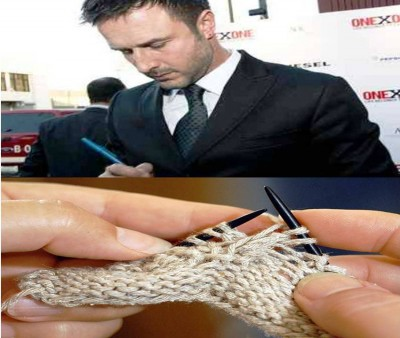 8. Knitting for David Arquette e13335450472871 10 Weird Hobbies of the Rich and Famous