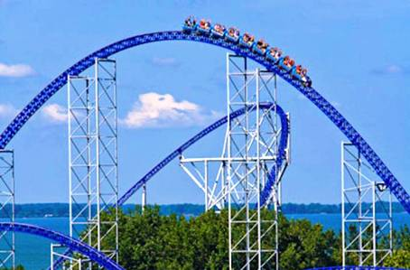 8. Millennium Force Top 10 Fastest Roller Coaster Rides in the World
