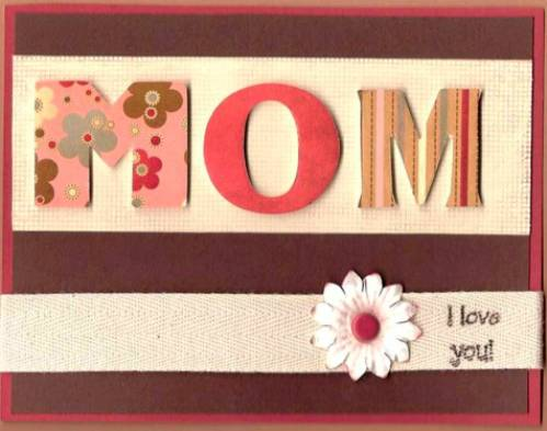 9. Scrapbook Cards 10 Best Mothers Day Greeting Card Ideas