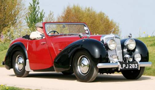 1. 1946 Triumph 1800 Roadster Top 10 Slowest Sports Cars of All Time