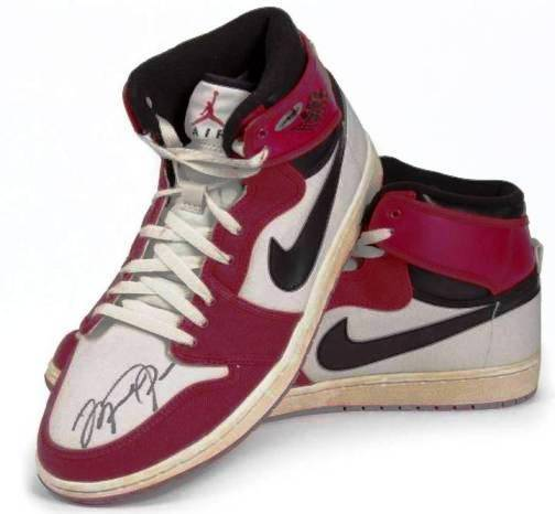 1. Air Jordan I Top 10 Most Expensive Basketball Shoes