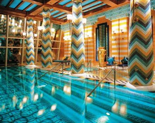 1. Burj Al Arab Pool Dubai e1337940591497 Top 10 World's Most Picturesque Pools