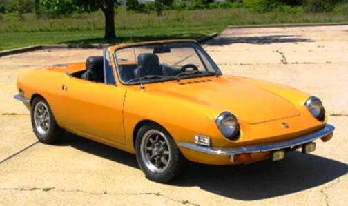 10. 1968 Fiat 850 Spider Top 10 Slowest Sports Cars of All Time