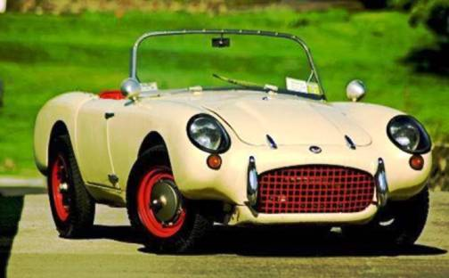 2. 1958 Berkeley Sports SE492 Top 10 Slowest Sports Cars of All Time