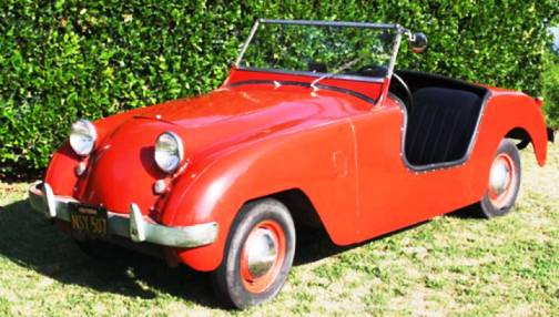 3. 1950 Crosley HotShot Roadster Top 10 Slowest Sports Cars of All Time