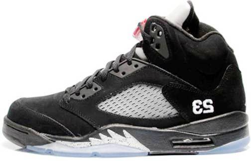 3. Air Jordan V Top 10 Most Expensive Basketball Shoes