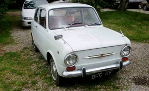 4. 1968 Fiat 850 Idromatic Top 10 Slowest Sports Cars of All Time