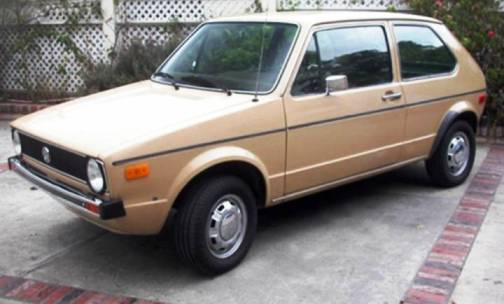 7. 1979 Volkswagen Rabbit Diesel Top 10 Slowest Sports Cars of All Time