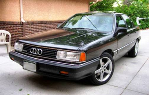 9. 1980 Audi 5000S Diesel Top 10 Slowest Sports Cars of All Time