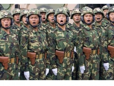 1. China e1339555672293 Top 10 Largest Armies in the World
