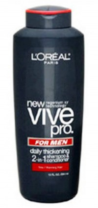 10. L'Oreal Vive Pro for Men Daily Thickening Shampoo e1339598725762 Top 10 Best Shampoos For Men in 2012