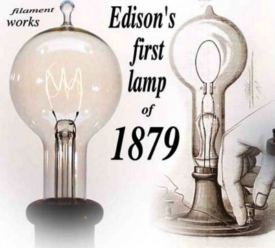 2. Light Bulb e1340789706529 Top 10 Inventions that Changed the World Forever