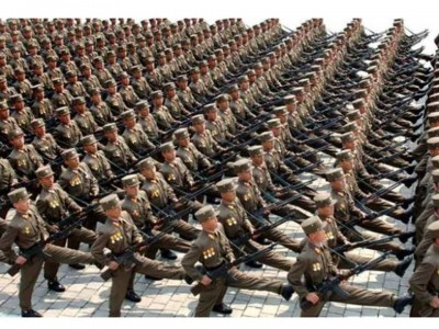 2. North Korea e1339555690619 Top 10 Largest Armies in the World