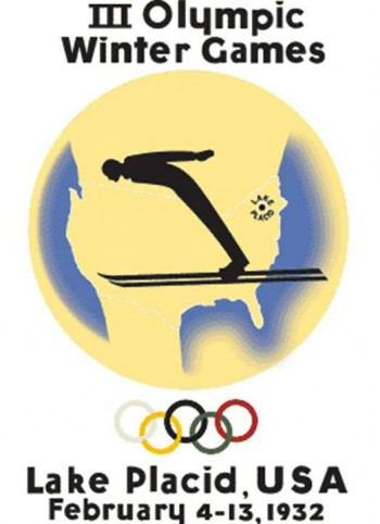 1. Lake Placid 1932 Olympics Logo e1342759716993 Top 10 Best Olympic Logos of All Time