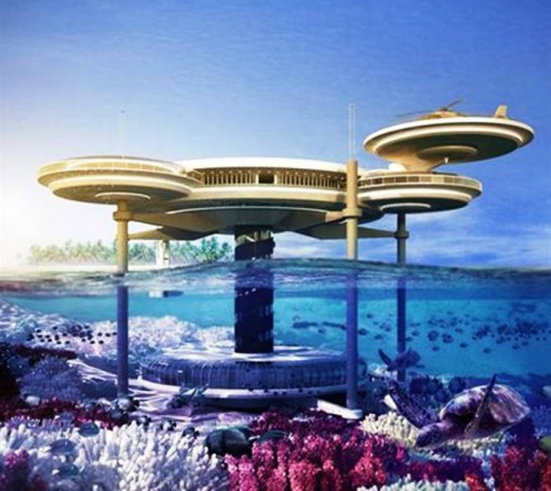 1. Water Discus Hotel e1343311346568 Top 10 Underwater Hotels in the World