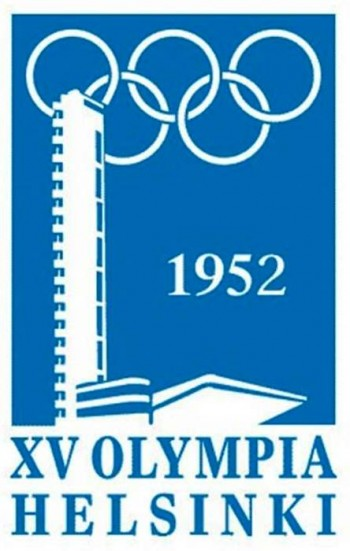 2. 1952 Helsinki Finland Olympics Logo e1342759697188 Top 10 Best Olympic Logos of All Time