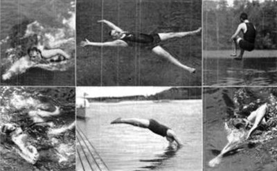 2. Plunge For Distance Diving 1904 e1343127991922 Top 10 Weirdest Sports in Olympics