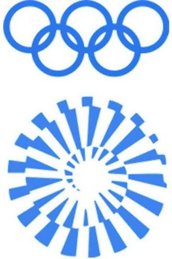 4. Munich 1972 Olympics Logo e1342759662953 Top 10 Best Olympic Logos of All Time