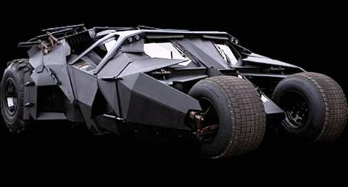 5. Batmobile 2012 Top 10 Batmobiles of All Time
