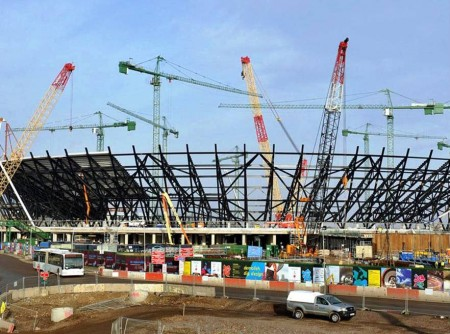 5. The Construction of Olympic Park e1343226756525 10 FYI about London Olympics 2012