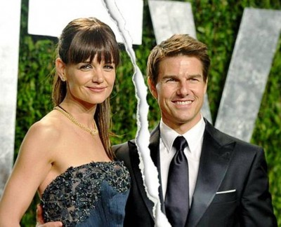 5. Tom Cruise and Katie Holmes e1343665921370 10 Most Controversial Celebrity Break ups