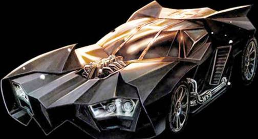 6. Batmobile 2011 Top 10 Batmobiles of All Time