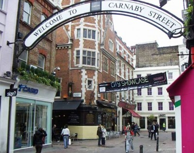 6. Carnaby Street e1342013665673 10 Best Places to Shop in London