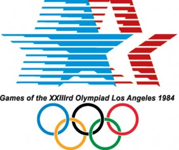 6. Los Angeles 1984 Olympics Logo e1342759632587 Top 10 Best Olympic Logos of All Time