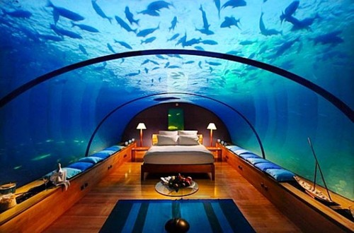 6. The Hilton Maldives resort and spa e1343311405760 Top 10 Underwater Hotels in the World