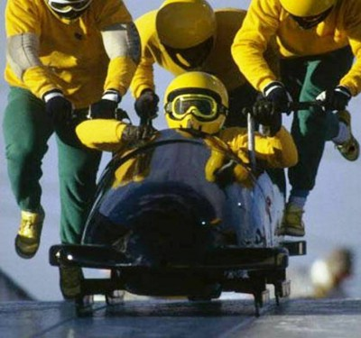 6. The Jamaican Bobsled Team e1343713698985 Top 10 Olympic Moments of All Time
