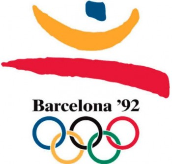 7. 1992 Barcelona Olympics e1342759618344 Top 10 Best Olympic Logos of All Time