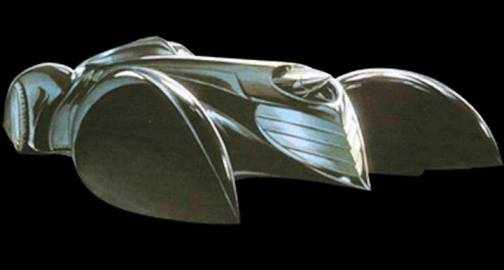 7. Batmobile 2005 Top 10 Batmobiles of All Time
