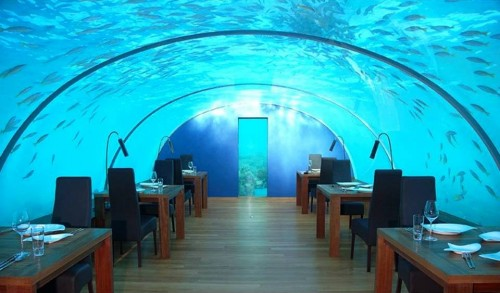7. Hotel Conrad Rangali Island Maldives e1343311416284 Top 10 Underwater Hotels in the World
