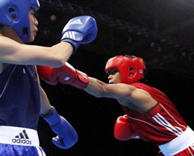 8. Boxing Competition for Women e1343197794721 Top 10 Firsts in London 2012