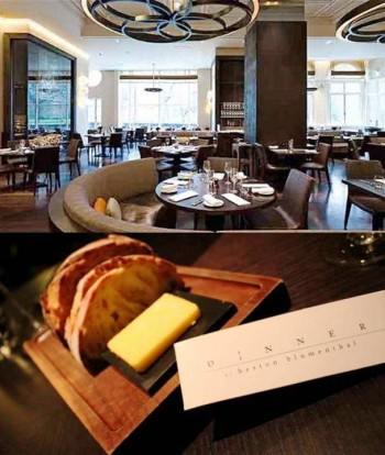 8. Dinner by Heston Blumenthal e1342074551178 10 Best Restaurants in London