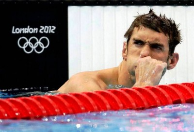 1. A Spotlight for Michael Phelps e1345178262343 Top 10 London Olympics News 2012