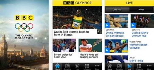 1. BBC Olympics Top 10 Olympics 2012 Mobile Applications
