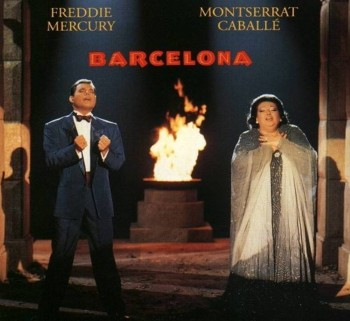 1. Barcelona by Freddie Mercury Monserrat Caball Barcelona Olympics 1992 e1345002551215 Top 10 Olympic Songs of All Time